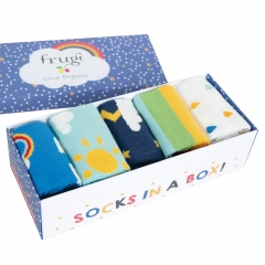 Frugi Weather Multipack Socks In A Box