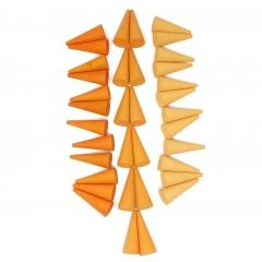 Grapat 36x Mandala Orange Cone