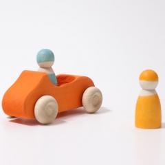 Grimm's Large Convertible Car - Orange