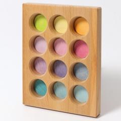 Grimm's Pastel Sorting Board