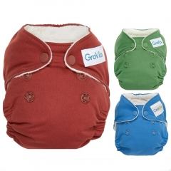 GroVia Newborn Nappy Colours
