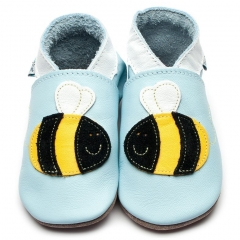 Inch Blue Buzzy Baby Blue Shoes