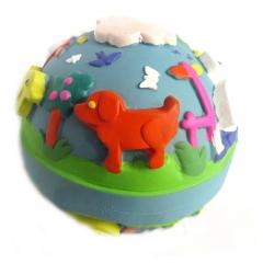 Lanco Natural Rubber Lulu Blue Ball