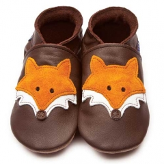 Inch Blue Mr Fox Chocolate Shoes