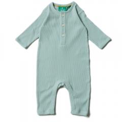 LGR Alpine Green Rib Play Suit