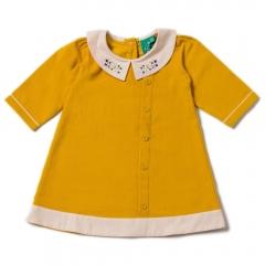 LGR Gold Button Down Dress