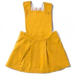 LGR Gold Pinafore Dress