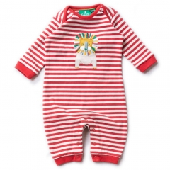 LGR Leo Lion Applique Babygrow