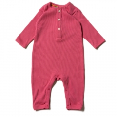 LGR Rose Rib Play Suit