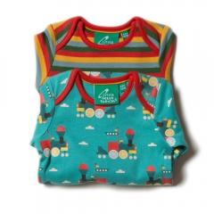 LGR Sky Train Baby Body 2-Pack