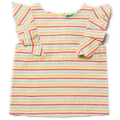 LGR Sunset Stripe Falling Water Top