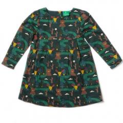 LGR Nordic Forest Lined Smock Dress