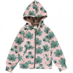 Maxomorra Chestnut Leaf Hooded Cardigan