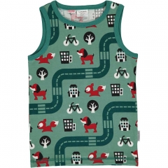 Maxomorra Big City Tank Top