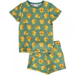 Maxomorra Lion SS Pyjamas
