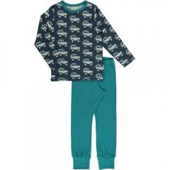 Maxomorra Jeep Adventure LS Pyjamas