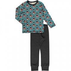 Maxomorra Moon Rocket LS Pyjamas