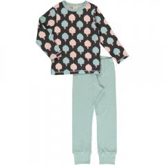 Maxomorra Sweet Cotton Candy LS Pyjamas