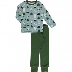 Maxomorra Winter World LS Pyjamas