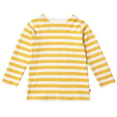 Piccalilly Mustard Stripe LS Top