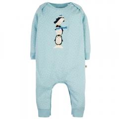 Frugi Penguin Charlie Romper