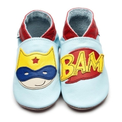 Inch Blue Baby Blue Superhero Shoes