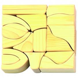 Glückskäfer 17 Small Natural Blocks