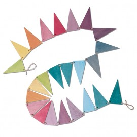 Grimm's Pastel Pennant Banner Bunting