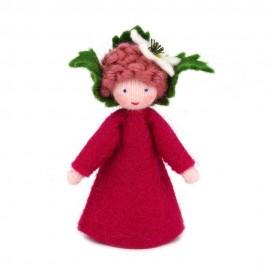 Ambrosius Raspberry Crown Fairy 7-8cm