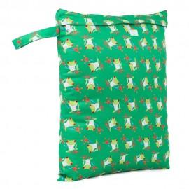 Baba + Boo Medium Nappy Bag-Tree frogs