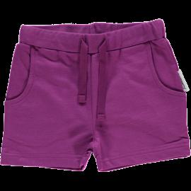 Maxomorra Purple Sweat Shorts