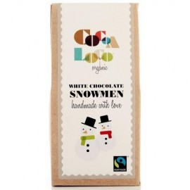 Cocoa White Chocolate Snowmen 110g
