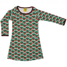 DUNS Dark Jade Radish LS Basic Dress