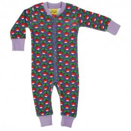 DUNS Purple Radish LS Zip Suit