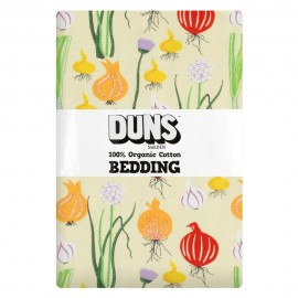 DUNS Pale Green Garlic, Chives & Onion Adult Single Bedding Set