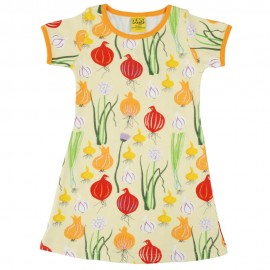 DUNS Pale Green Garlic, Chives & Onion SS Dress