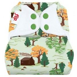 Flip Nappy Cover - Big Woods