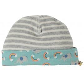 Frugi Grey Marl Dinky Hat