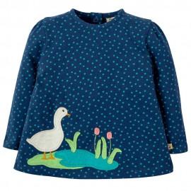 Frugi Duck Connie Applique Top
