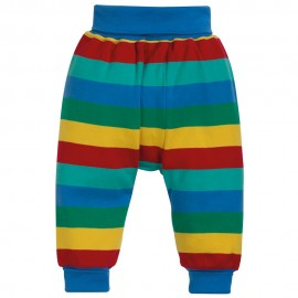 Frugi Rainbow Stripe Parsnip Pants