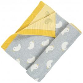 Frugi Knitted Ducks Snug Blanket