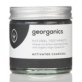 Georganics Natural Toothpaste - Activated Charcoal 60ml