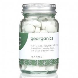 Georganics Natural Toothtablets - Tea Tree x120