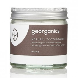 Georganics Natural Toothpowder - Pure 60ml