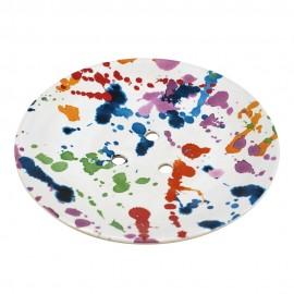 Glosters Soap Dish - Rainbow Splash