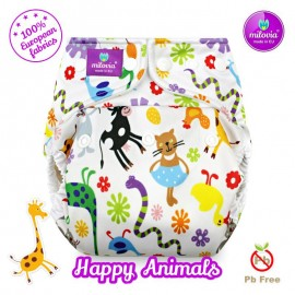 Milovia Newborn Cover Happy Animals