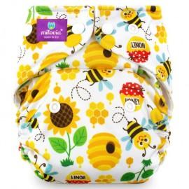 Milovia Pocket Nappies - Sweet Bee