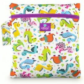 Milovia Nappy Wet Bags - Cool Dinos