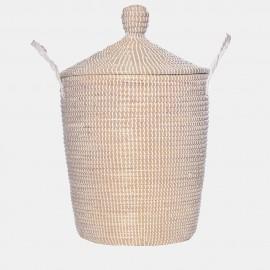 Olli Ella Neutra Lidded Large Basket
