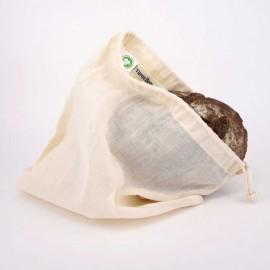 Turtle Bags Organic Cotton Bread Bag - Small
